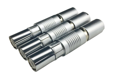 Single core coaxial high frequency connector